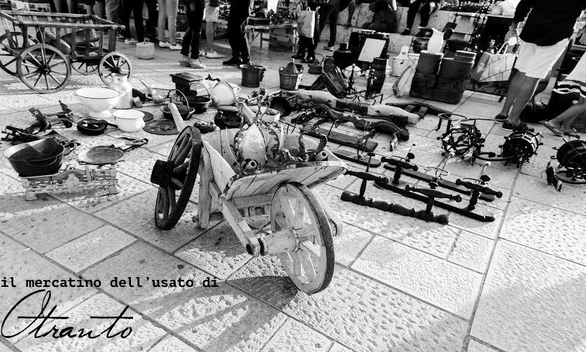 Settembre nel salento il mercatino dell usato di otranto for Mercatino dell usato busto arsizio